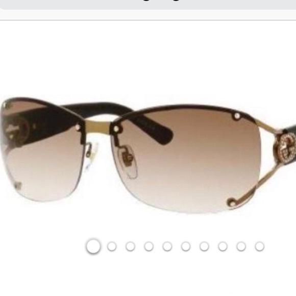 5885ca11be7e Gucci Accessories | Gg2820fs Womens Semirimless Sunglasses | Poshmark
